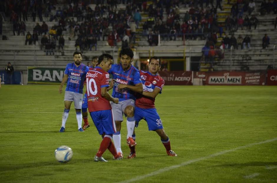 Xela vence a Malacateco Apertura 2015 foto