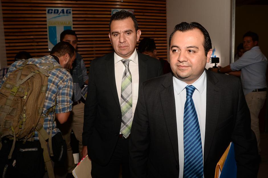 Estuardo Ralón, fue el representante de la Fedefut. (Foto: Sergio Muñoz/Nuestro Diario)