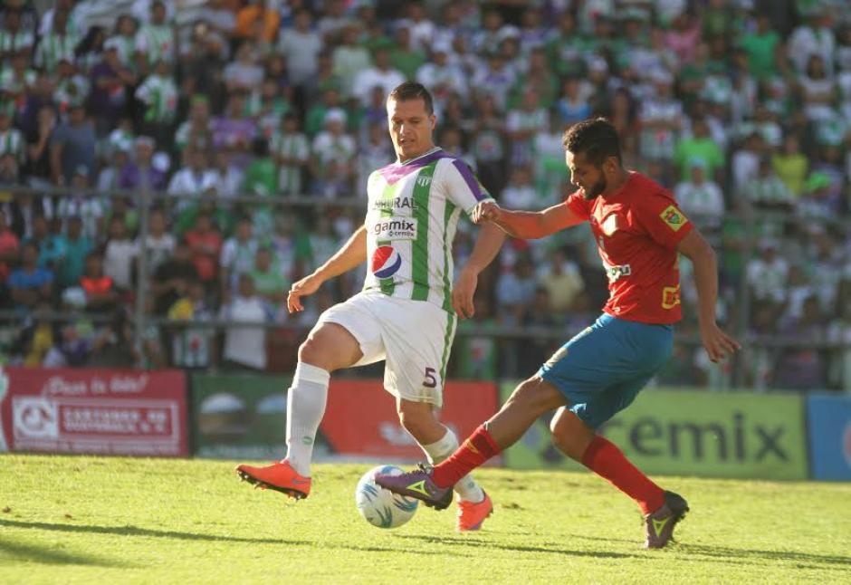 El juego de ida se celebró en el estadio Pensativo este jueves 15 de diciembre. (Foto: Luis Barrios/Soy502)
