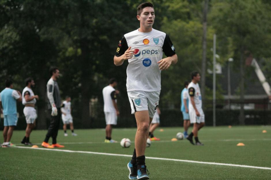 Elías Enoc Vásquez ya se entrena con la selección nacional en Chicago. (Foto: Francisco Nieves/Fedefut)