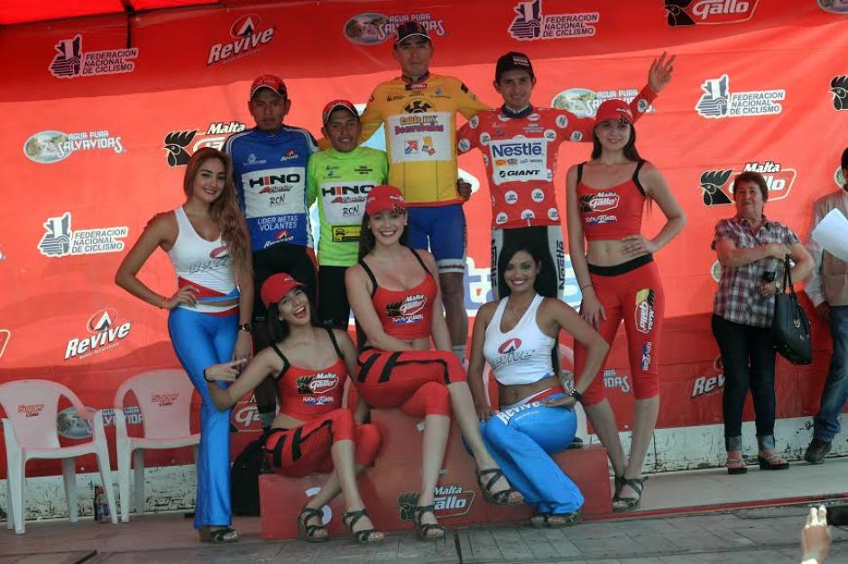 Los líderes generales de la competencia hasta la etapa 2. (Foto: Diego Galiano/Nuestro Diario)