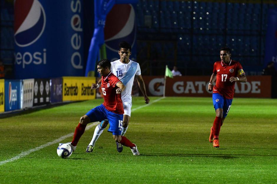 Guatemala y Costa Rica Sub23 no pasaron del empate en el estadio Mateo Flores. (Foto: Nuestro Diario)