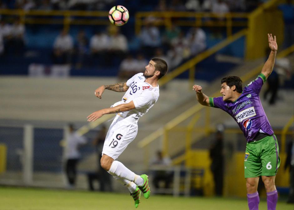 Antigua GFC controló bien al rival y sumó un buen punto de visita. (Foto: El Diario de Hoy)