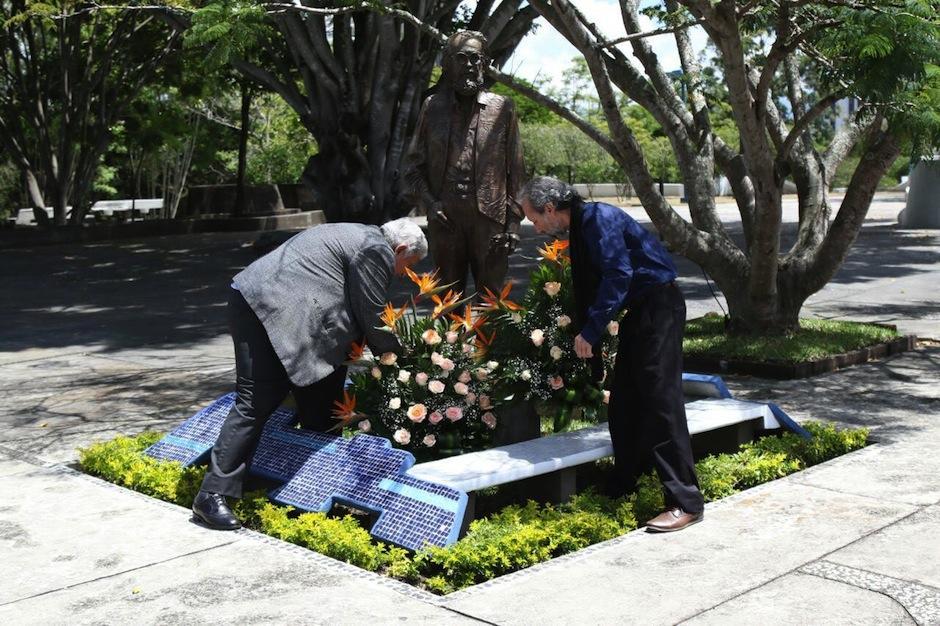 El museo se abrió durante el homenaje al artista a 5 años de su muerte. (Foto: Alejandro Balan/Soy502)