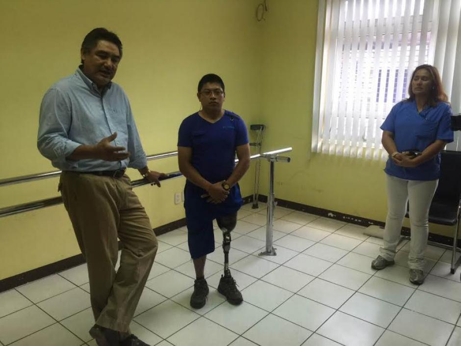 Henry Hernández logró recuperarse rápidamente y ha iniciado una nueva etapa en su vida. (Foto: Bomberos Voluntarios )