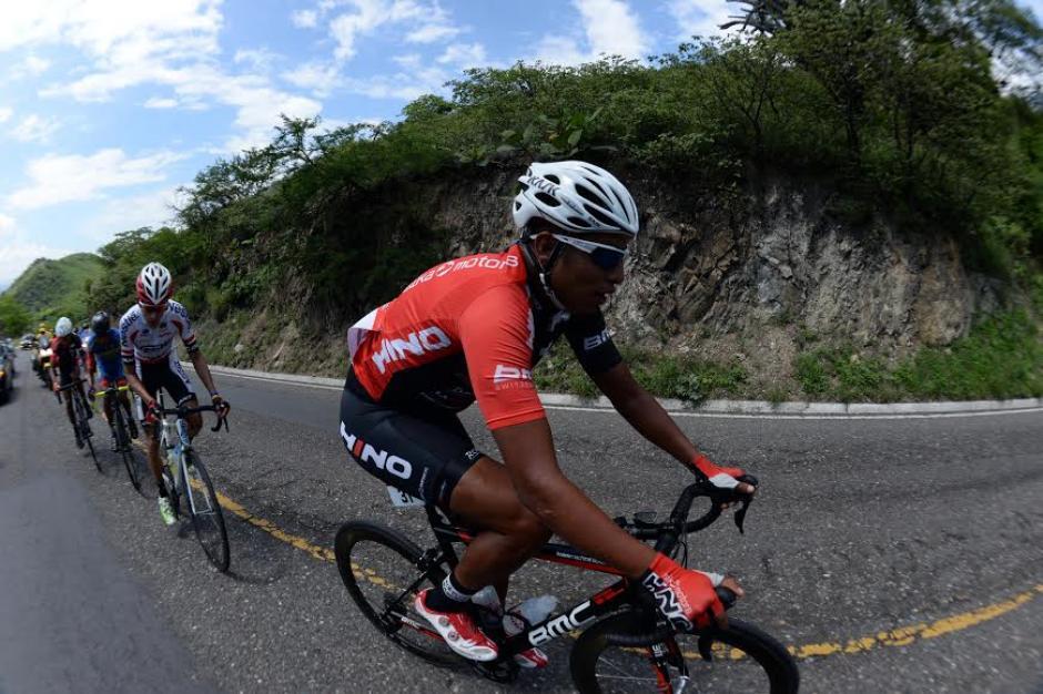 El guatemalteco Alder Torres durante la competencia. (Foto: Diego Galiano/Nuestro Diario)