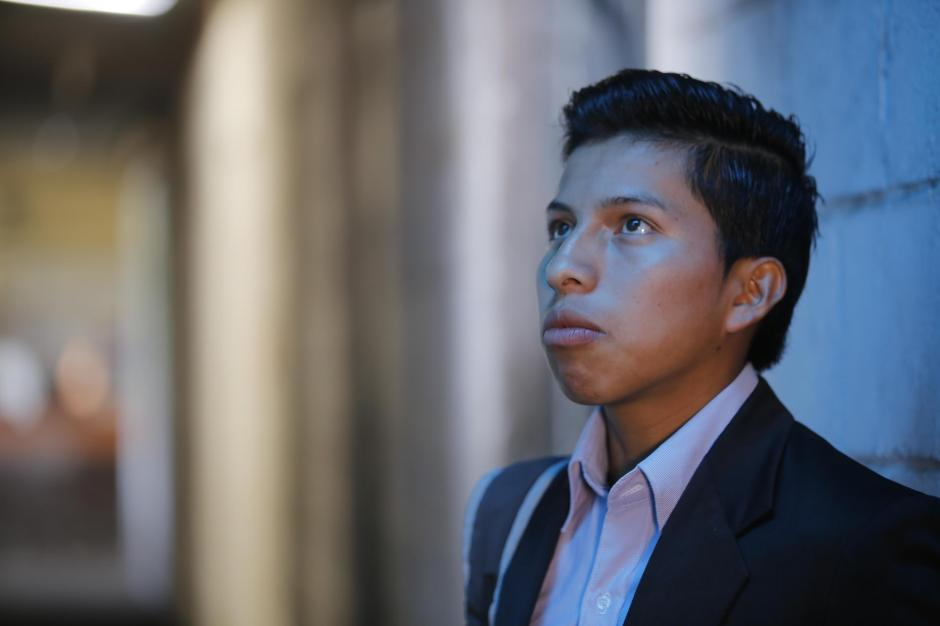 Mario Cúmez tiene una nueva oportunidad en la vida. (Foto: René Ruano/Nuestro Diario)