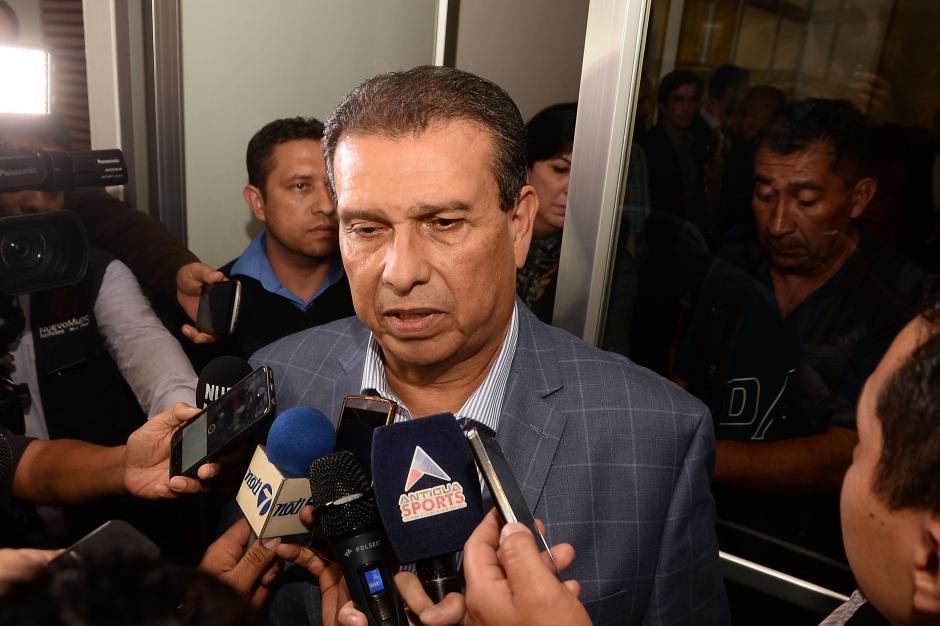 Dennis Alonzo, presidente de la CDAG, afirmó que no se rompió el quórum de la asamblea. (Foto: Sergio Muñoz/Nuestro Diario)