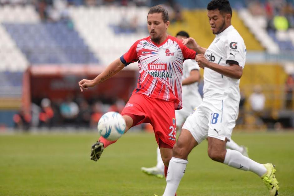 Malacateco generó algunas opciones de gol pero no las concretó. (Foto: Nuestro Diario)