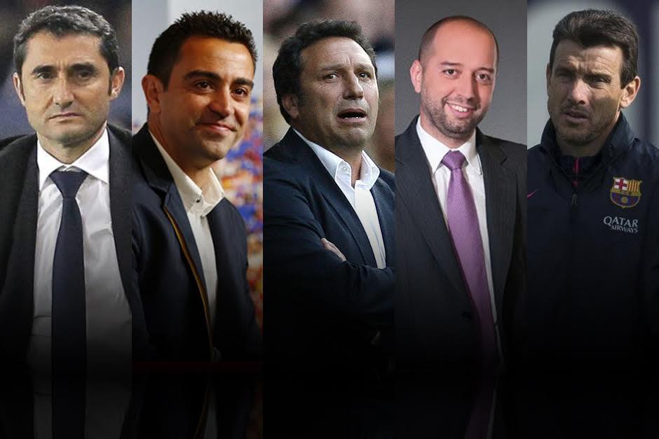 Ellos son los candidatos para dirigir al FC Barcelona cuando Luis Enrique se marche. (Foto: Soy502)