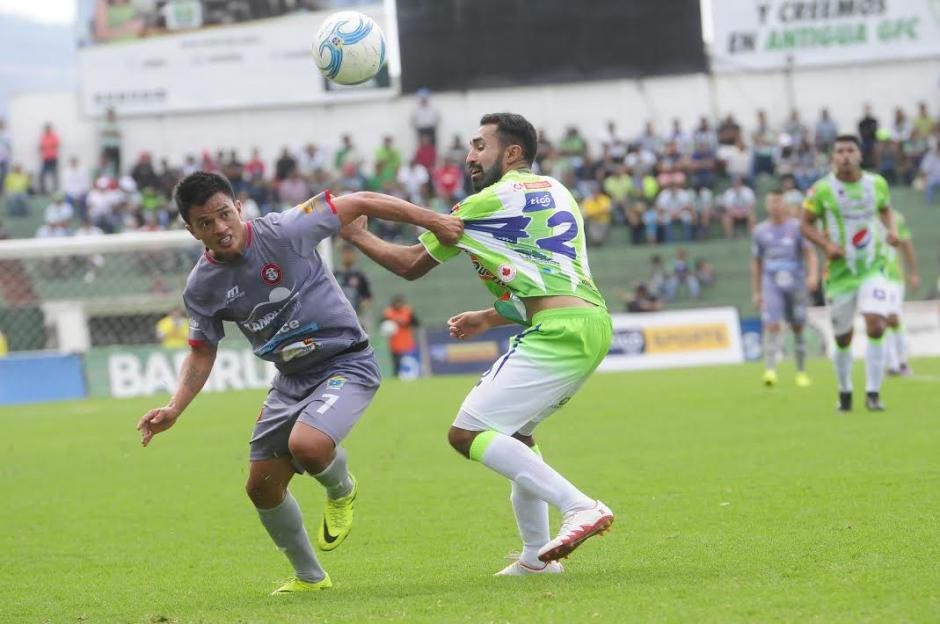 El campeón Antigua GFC es de nuevo el líder del torneo con 12 puntos en 5 jornadas. (Foto: Nuestro Diario)