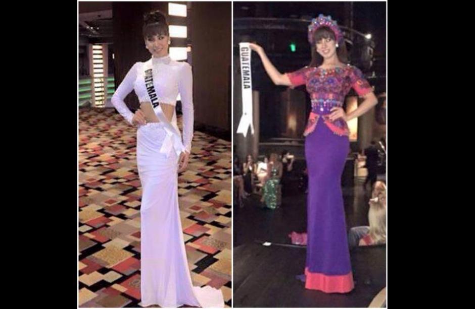 El traje que Jeimmy Aburto usó representando la cultura de nuestro país causó polémica cuando en la página oficial de Miss Costa Rica se refería despectivamente al atuendo. (Foto: Miss Guatemala oficial)