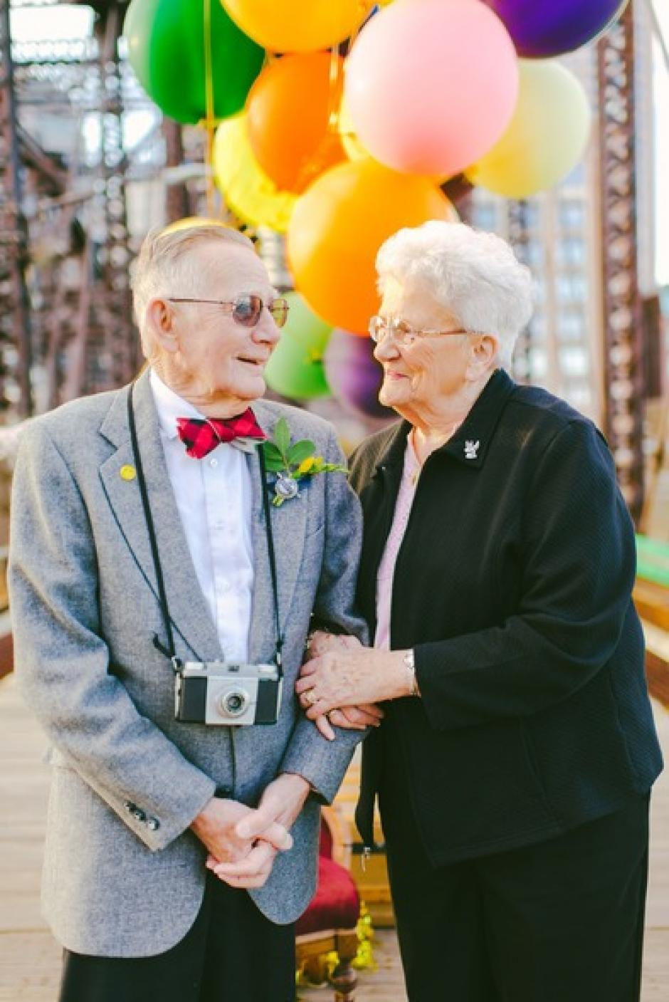 Nina y el Abuelo han pasado 61 años de matrimonio feliz, toda una hazaña en estos tiempo.