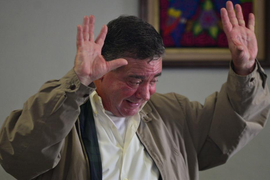 """""""Yo no soy un parásito, he generado fuentes de empleo"""", dijo Roitman. (Foto: Wilder López/Soy502)"""