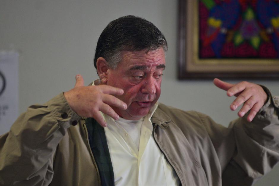 """Roitman dijo que tras 30 años en el país no está dispuesto a un """"Mickey Mouse"""". (Foto: Wilder López/Soy502)"""