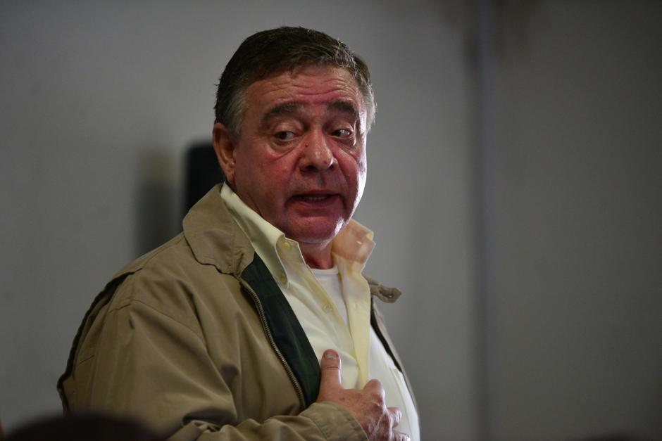 Roitman dice que tiene la conciencia tranquila. (Foto: Wilder López/Soy502)