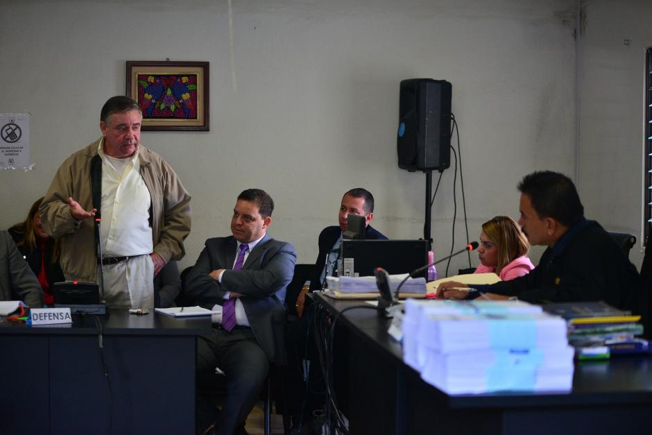 Roitman niega que trabajara en Tarcic; únicamente hacía cobros. (Foto: Wilder López/Soy502)