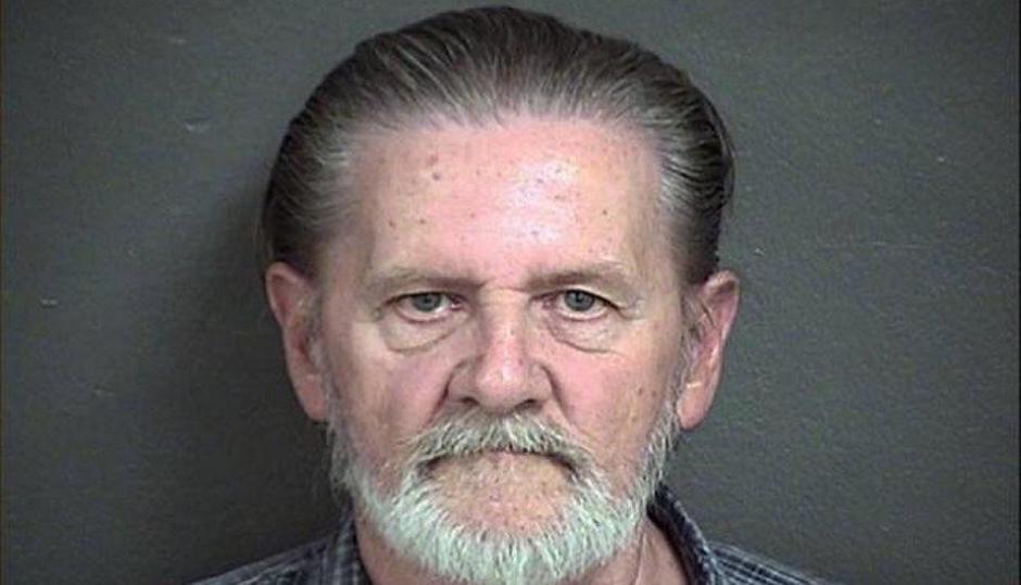 Lawrence John Ripple robó un banco y ahora está preso. Él hombre quería escapar de su esposa. (Foto: Sheriff Kansas)