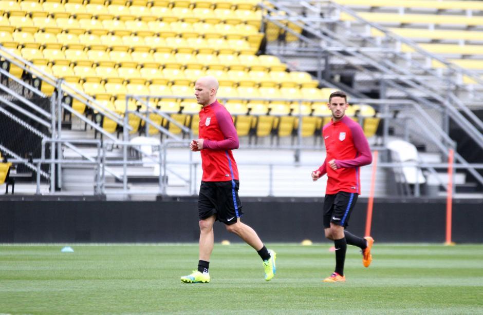 Michael Bradely es uno de los emblemas de la Selección de Estados Unidos.  (Foto: Luis Barrios/enviado especial de Soy502)