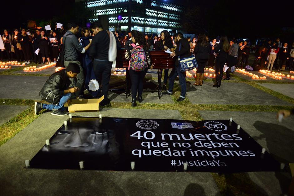 La canción está llena de sentimentalismo debido a la pérdida de las niñas en el Hogar Seguro. (Foto: Jesús Alfonso/Soy502)