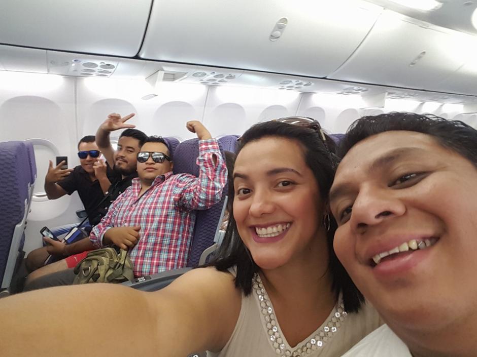 Varios de los estudiantes que viajaron son dirigentes estudiantiles. (Foto: Soy502)