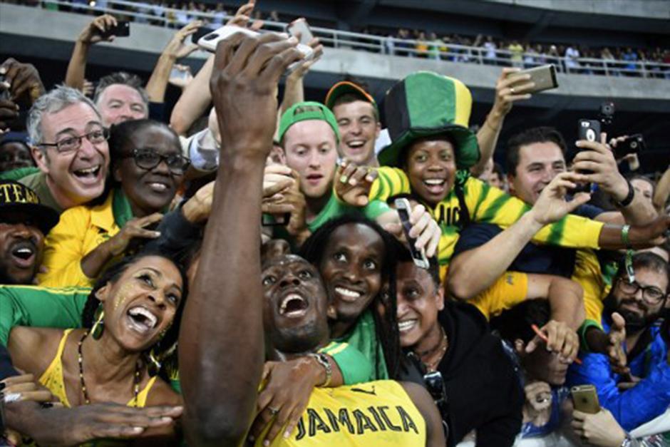 Usain ha llenado los estadios en las Olimpiadas de Río 2016. (Foto: AFP)
