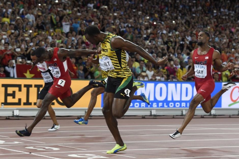 El velocista tuvo problemas durante las semifinales, pero supo recomponerse y colocarse arriba de otros favoritos. (Foto: AFP)
