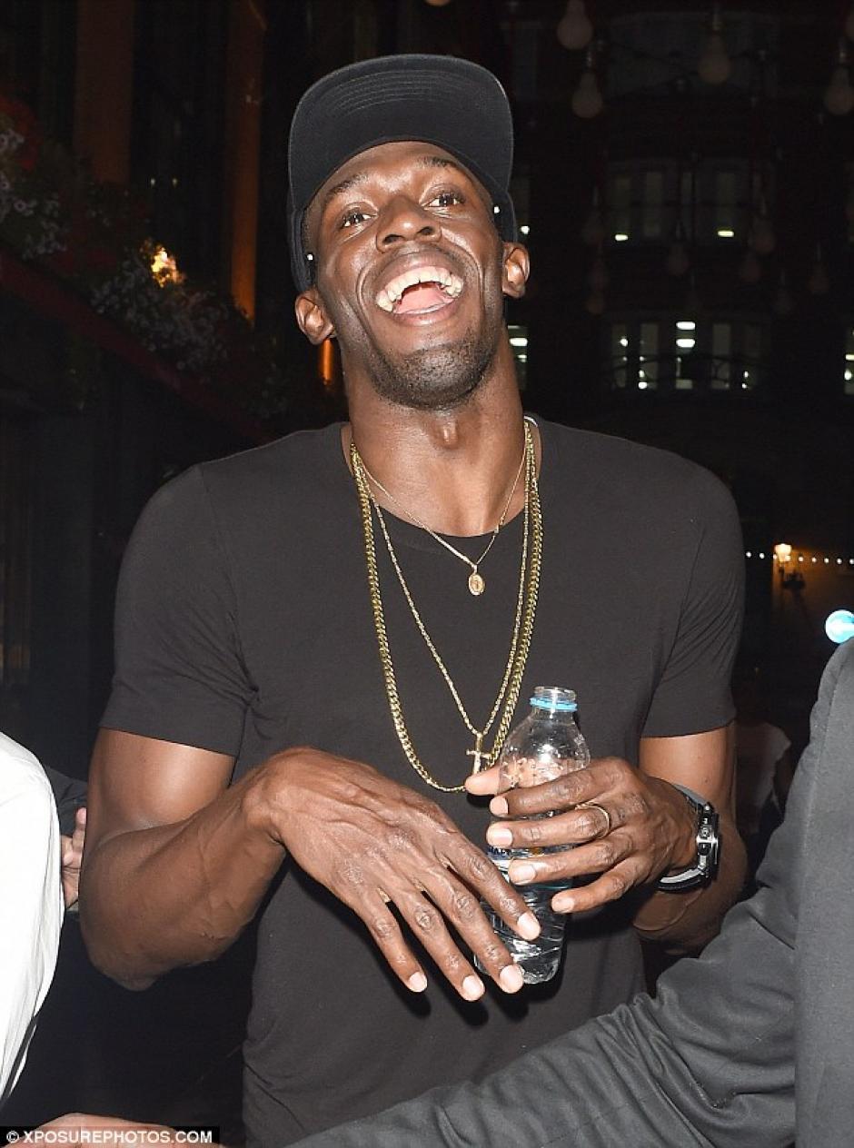 Su cumpleaños lo festejó en el elegante club Soho Cirque Le Soir, Londres. (Foto: Daily Mail)