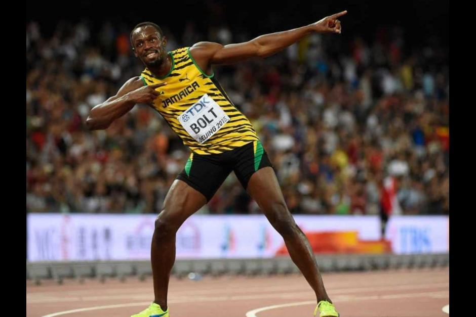 Usain Bolt es poseedor del récord mundial en 100 metros planos. (Foto: Archivo/Soy502)