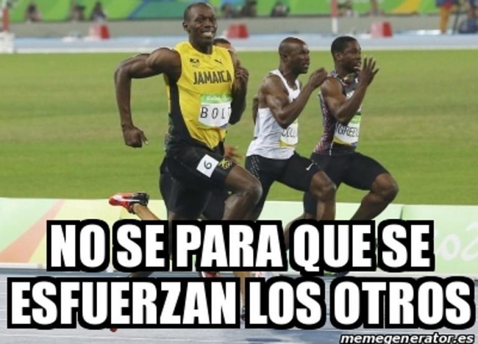 Bolt ha ganado tres oros olímpicos en 100 metros planos. (Foto: Mundo Deportivo)