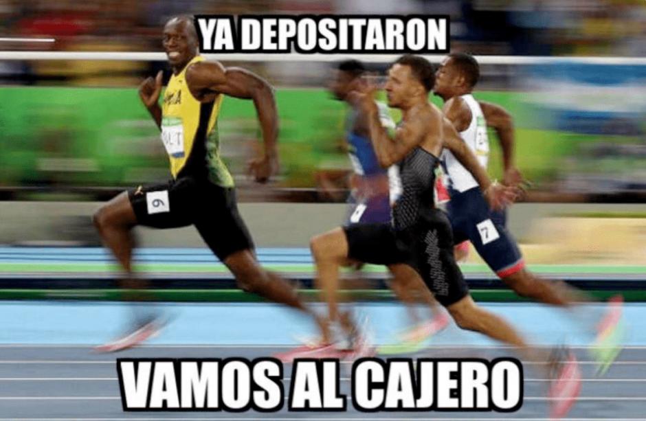 El triunfo de Usain Bolt causó revuelo en las redes sociales. (Foto: diez.hn)