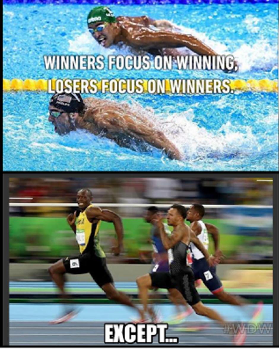 """""""Los ganadores se enfocan en ganar, los perdedores en el ganador. Excepto.."""". (Foto: Mundo Deportivo)"""