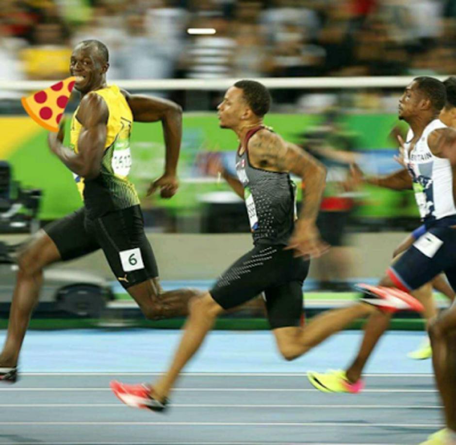 La sonrisa de Bolt hizo que los memes no necesitaran de muchos retoques. (Foto: Mundo Deportivo)