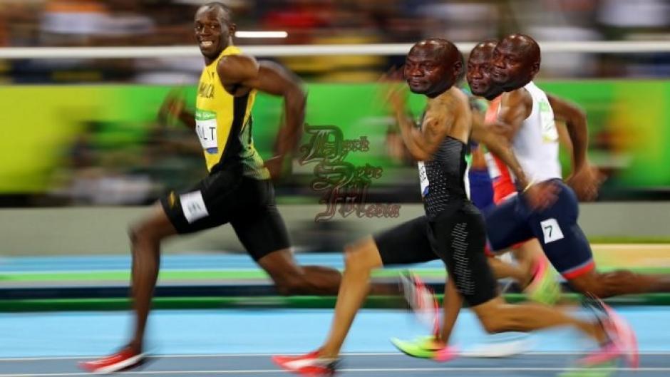 La facilidad con la que gana Bolt generó risas en las redes sociales. (Foto: Sport)