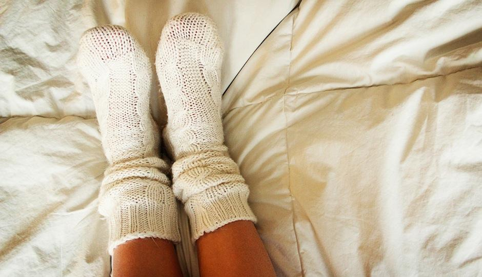 Al tener los pies tapados, el calor se propaga por todo el cuerpo. (Foto: philadelpia magazine)