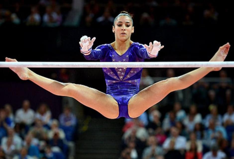 Aly practica la disciplina de gimnasia olímpica. (Foto: usmagazine.com)