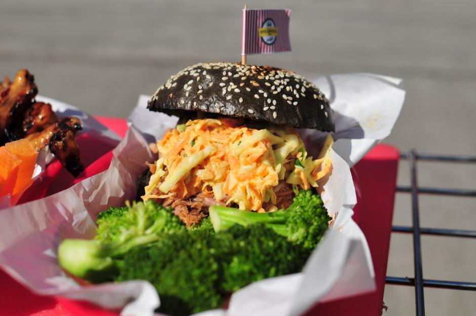 La Black Pulled Pork es una de las innovaciones que saldrán a la venta en febrero.(Foto: Alejandro Balán/Soy502)