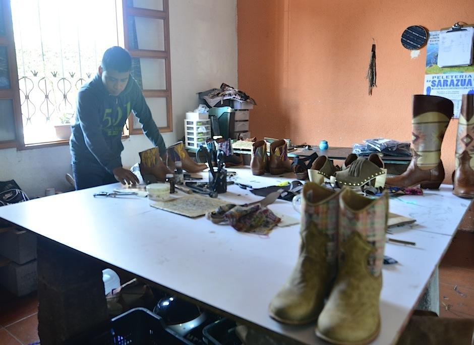 Britini se quedó en nuestro país enamorada de sus textiles. (Foto: Selene Mejía/Soy502)
