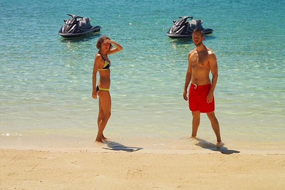La exitosa pareja se encuentra de vacaciones. (Foto: Instagram/Taylor Swift)