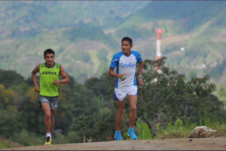 Pacay inició a correr en las montañas de Alta Verapaz. (Foto: Archivo)
