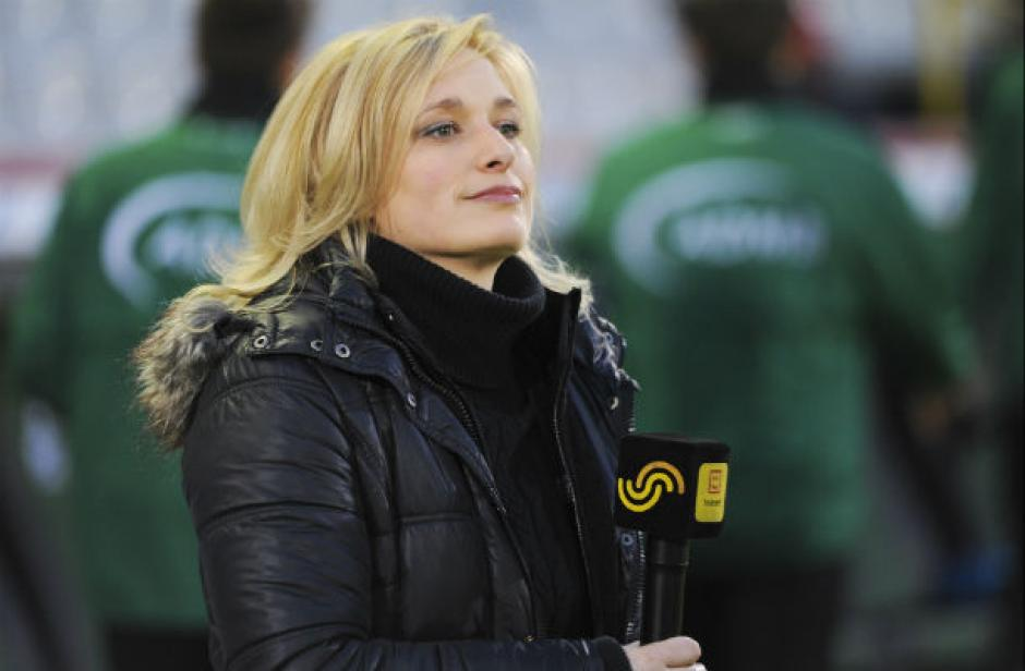 Van Malderen es una de las favoritas del público para entrevistar a los futbolistas belgas. (Foto: hildevanmalderen)