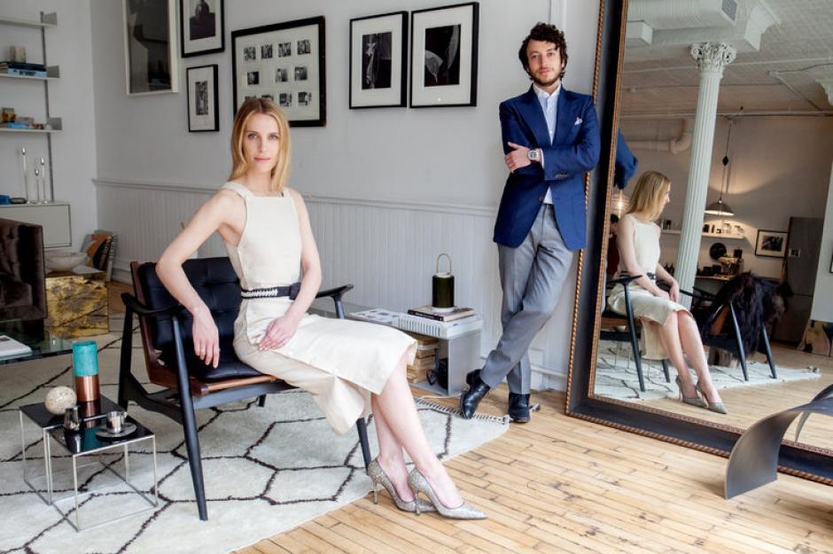Adam Pritzker y Vanessa Traina buscan revolucionar la moda en Estados Unidos. (Foto: nytimes.com)