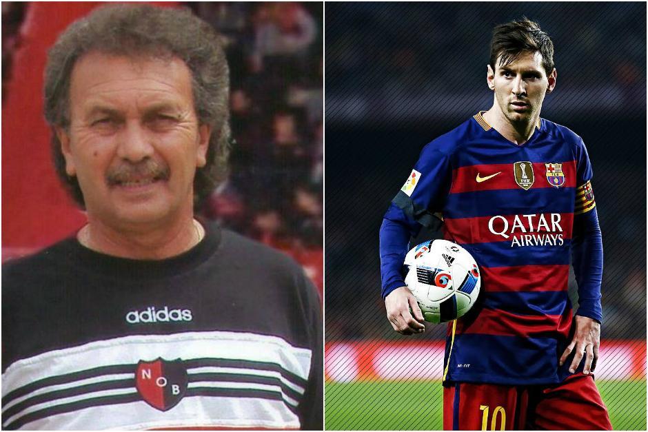 Ernesto Vecchio le dio la oportunidad a Messi de jugar para Newell's. (Foto: Infobae)