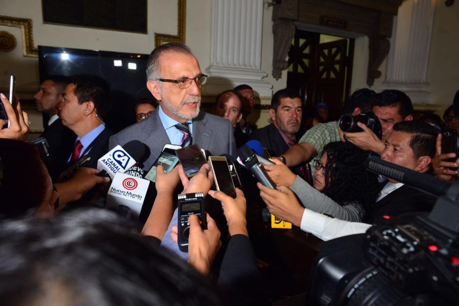 Iván Velásquez, comisionado de la CICIG, es uno de los promotores de las reformas y pidió apoyo a la Junta Directiva del Congreso. (Foto: Jesús Alfonso/Soy502)