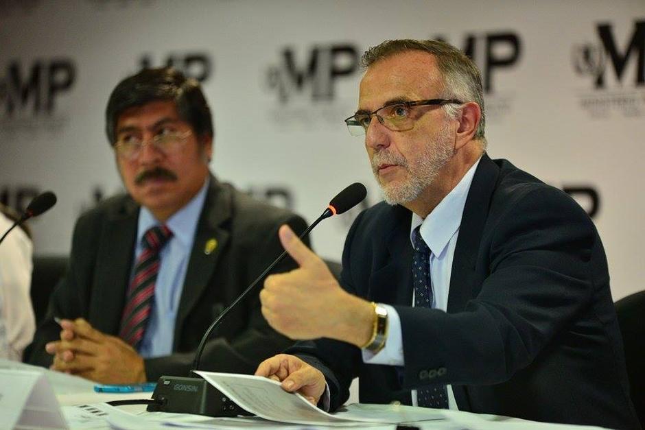 Iván Velásquez el titular de la CICIG ha informado sobre los casos de corrupción en el país. (Foto: Archivo/Soy502)