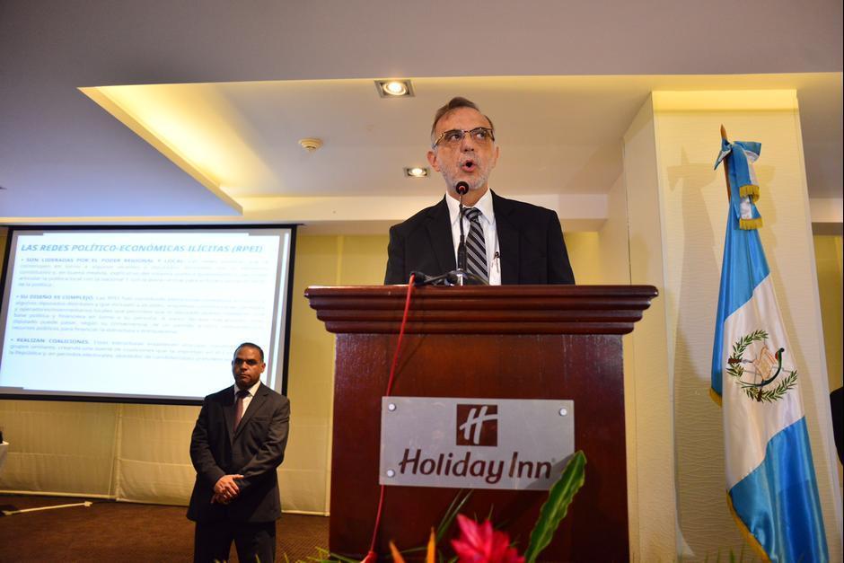 Iván Velásquez es un colombiano que ha dicho aprecia mucho a Guatemala. (Foto: Archivo/Soy502)