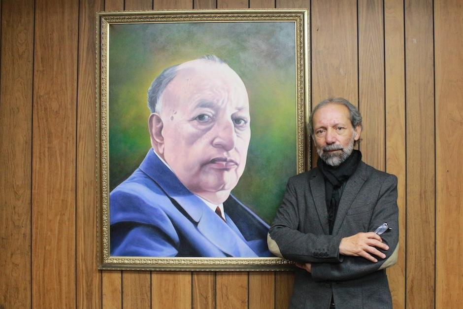 El arquitecto Álvaro Veliz Rosales es el nuevo director del Centro Cultural Miguel Ángel Asturias. (Foto: Centro Cultural Miguel Ángel Asturias oficial)