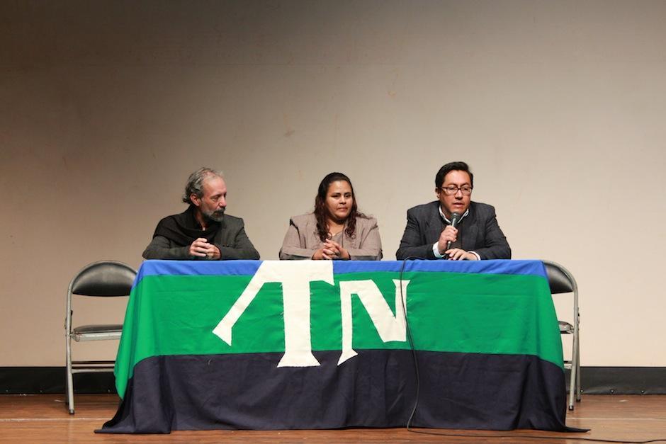 El arquitecto fue nombrado en un acto protocolario celebrado en el Teatro de Cámara Hugo Carrillo. (Foto: Centro Cultural Miguel Ángel Asturias)
