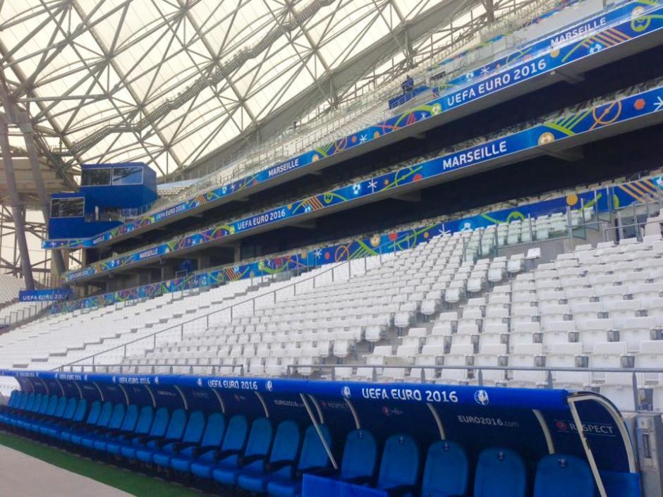 El Stade Velódrome será sede de seis encuentros de la EURO 2016. (Foto: Facebook/velodromeOfficiel)