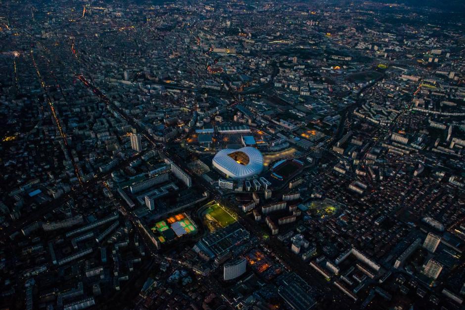 Vista aérea del estadio Vélodrome, ubicado en la ciudad de Marsella. (Foto: Facebook/velodromeOfficiel)
